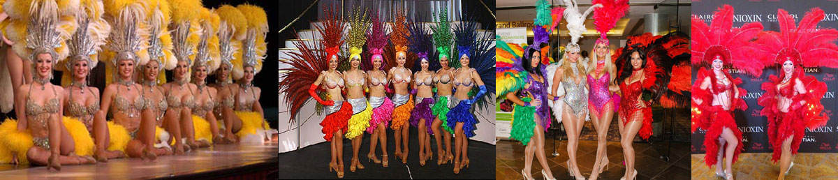 Showgirls for hire